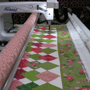 On the longarm