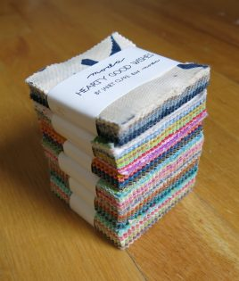 Stack of minis showing the variety of colour within